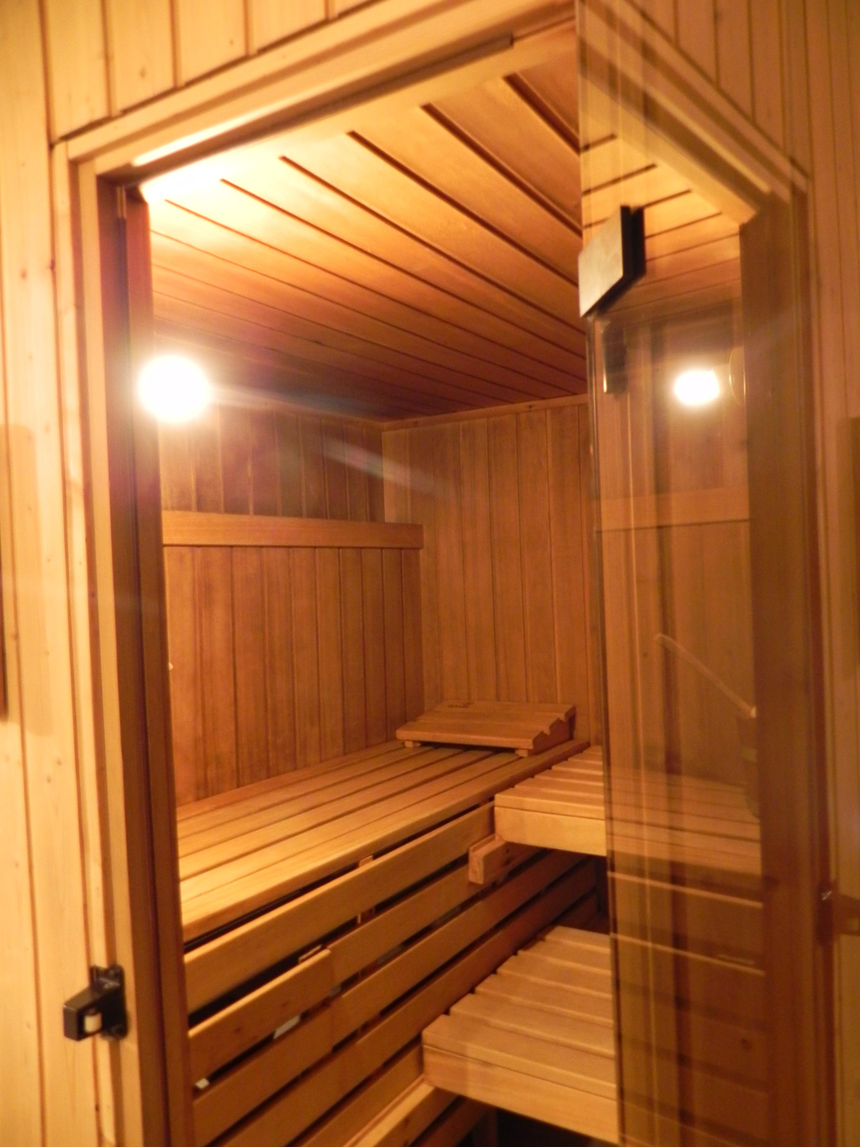 normale Sauna aussen