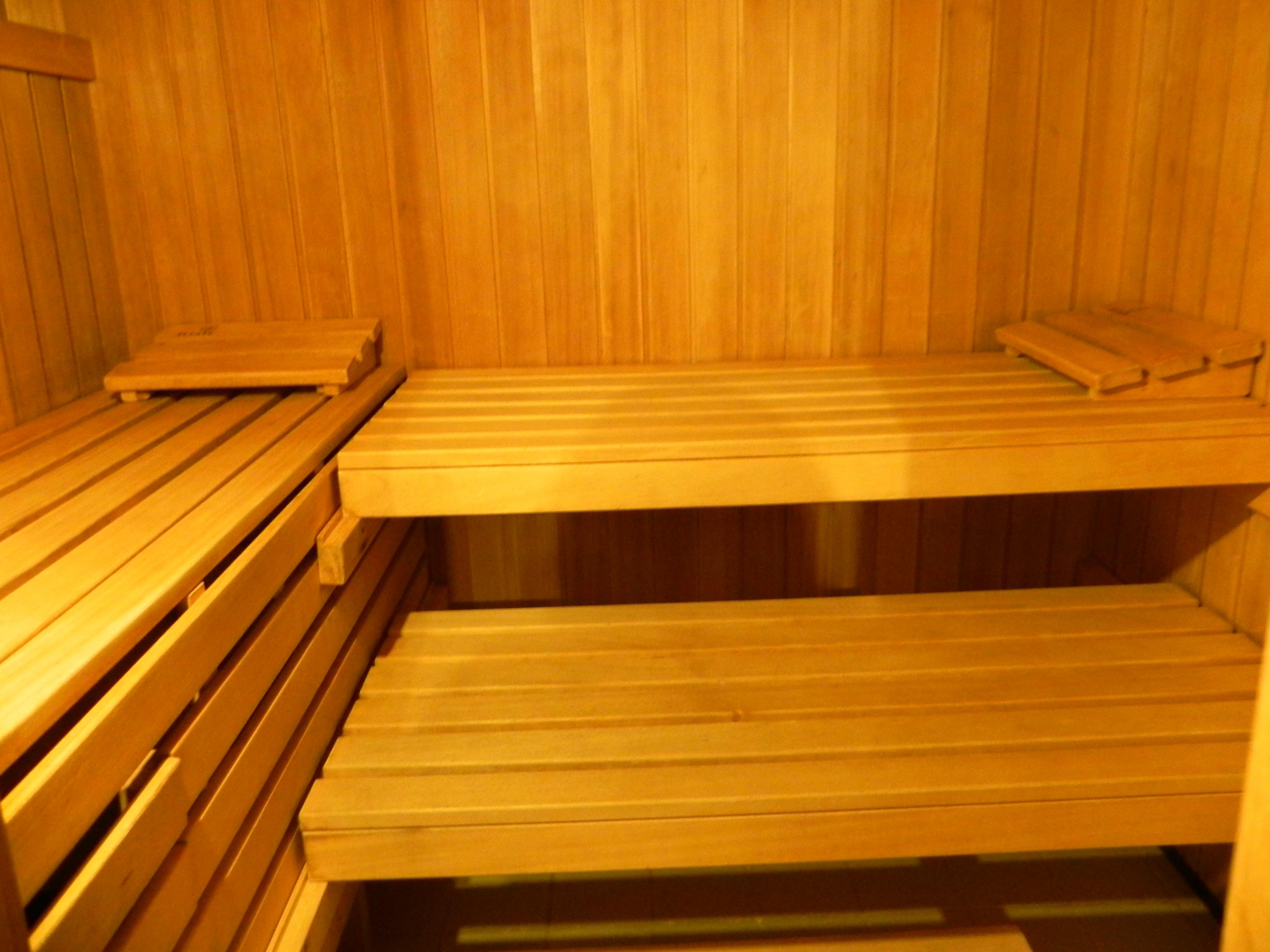 normale Sauna innen